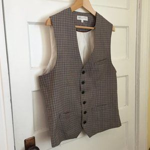 Haight & Ashbury wool blend bank vest - size L